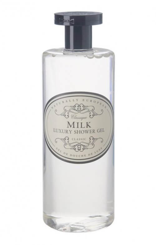 naturally european milk shower gel