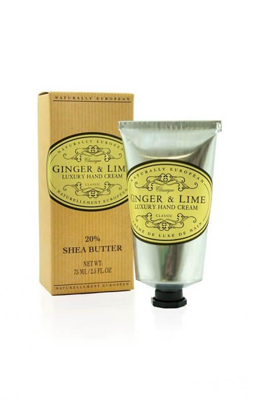 naturally european ginger lime shea hand cream
