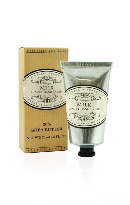 naturally european milk shea hand cream