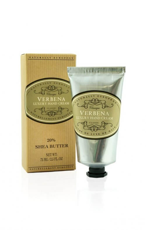naturally european verbena shea hand cream