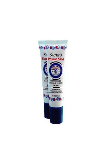 smith's rosebud salve lip balm original tube