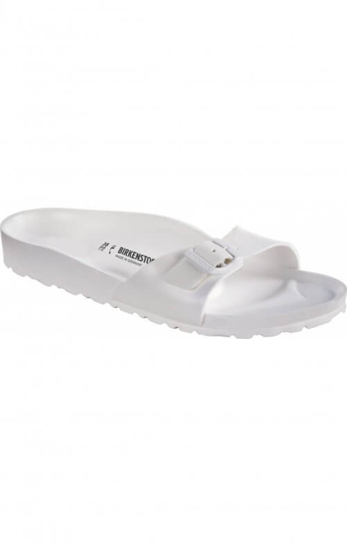 birkenstock madrid white birko foam