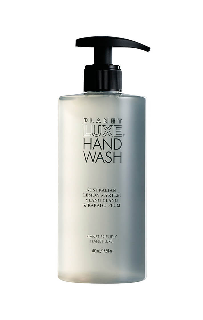 planet luxe hand wash lemon myrtle ylang ylang