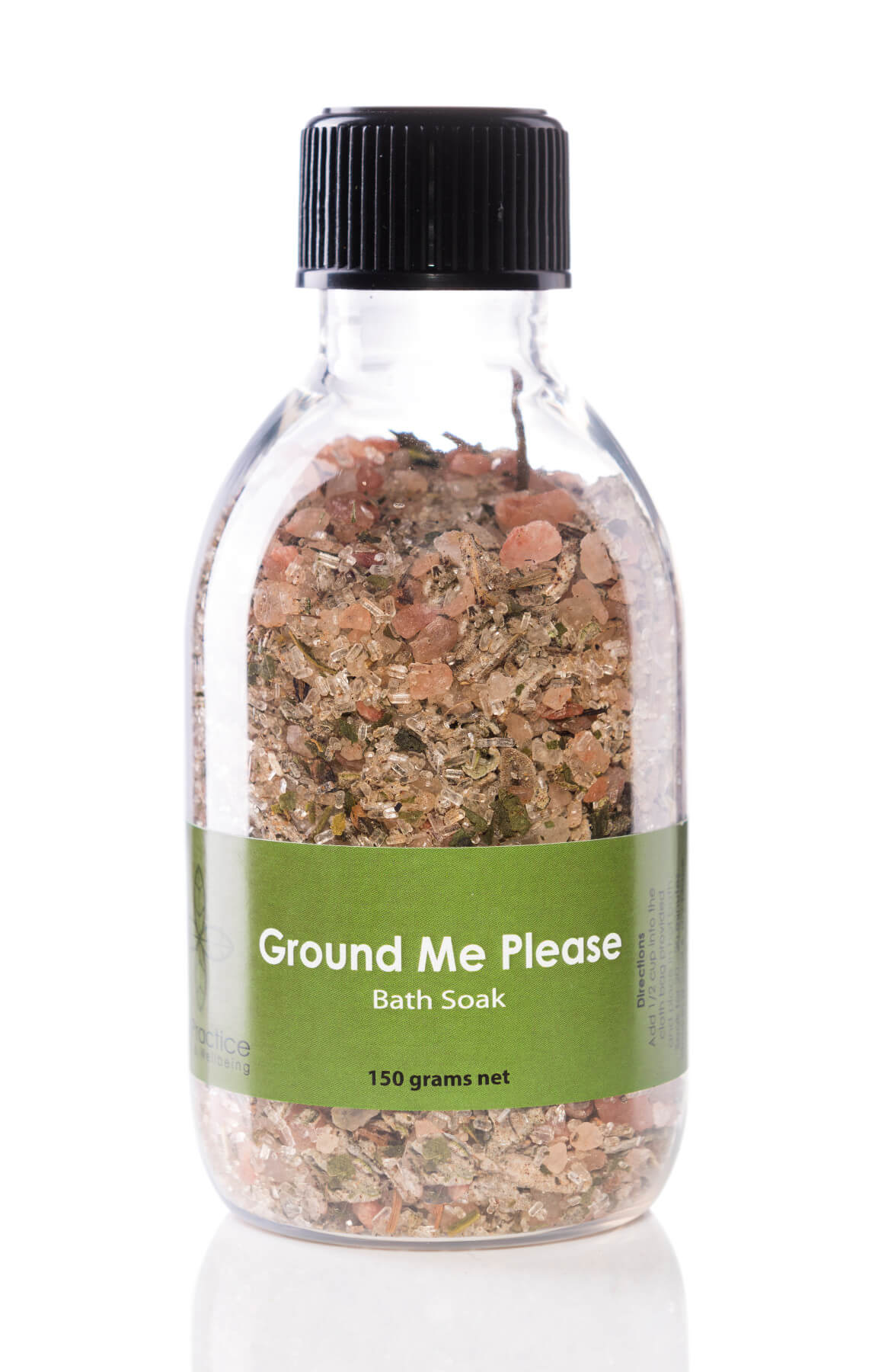 iris practice ground me please bath salts jar