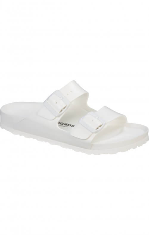 birkenstock arizona white birko foam