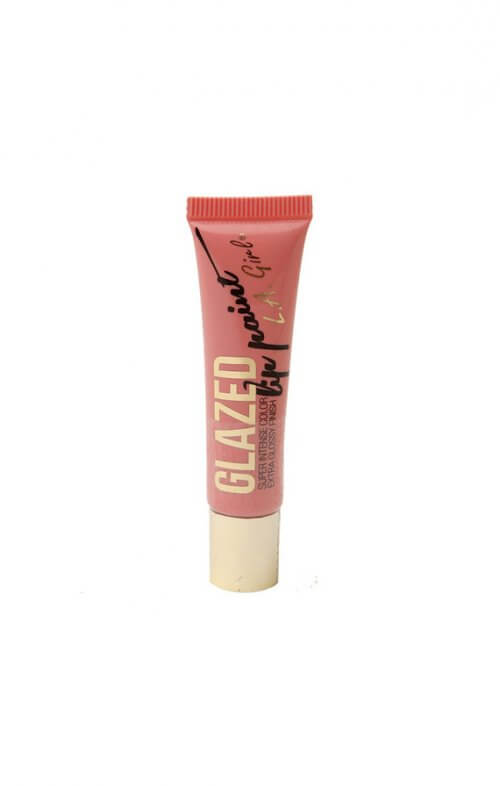 la girl glazed lip paint peony