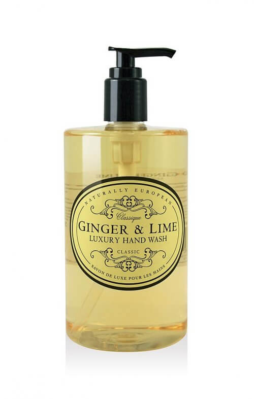 naturally european ginger lime hand wash