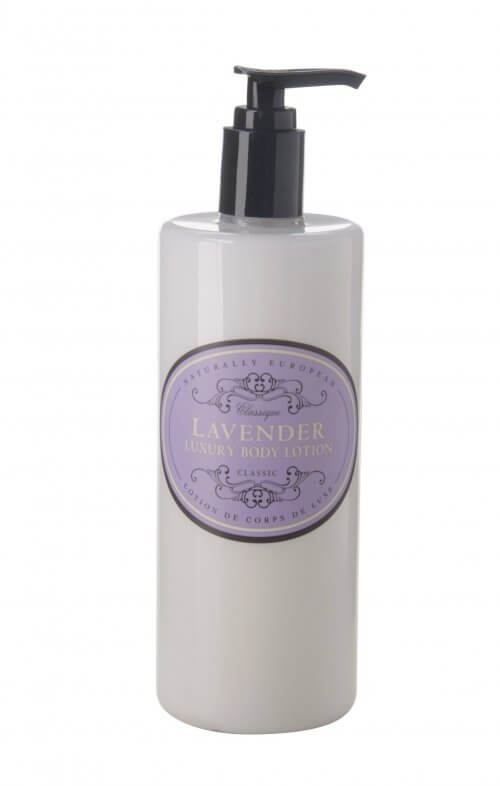 naturally european lavender body lotion