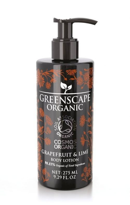 greenscape organic grapefruit lime body lotion