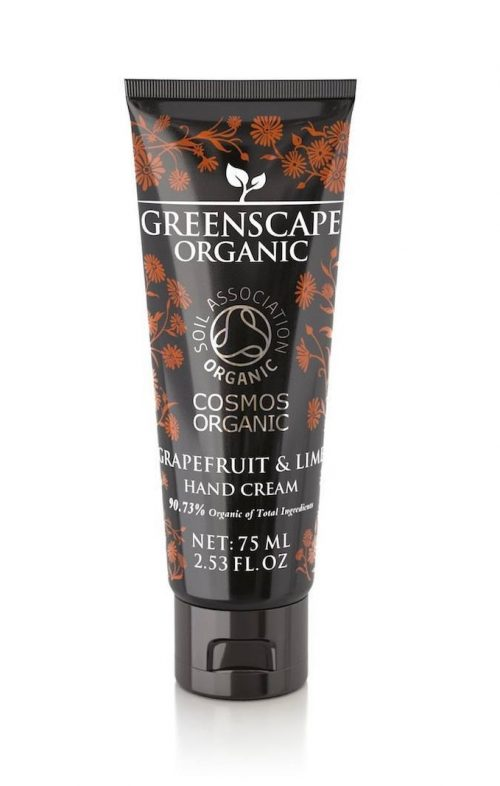 greenscape organic grapefruit lime hand cream