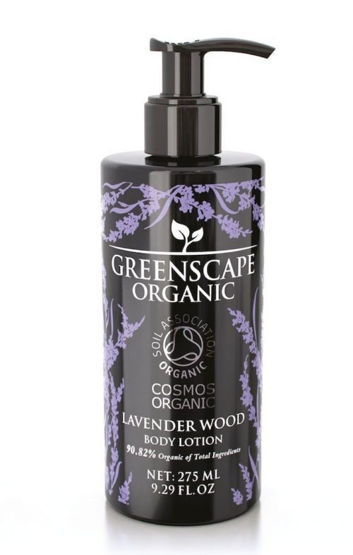 greenscape organic lavender wood body lotion