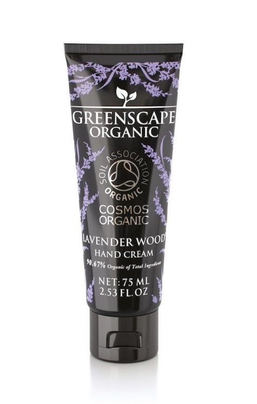 greenscape organic lavender wood hand cream