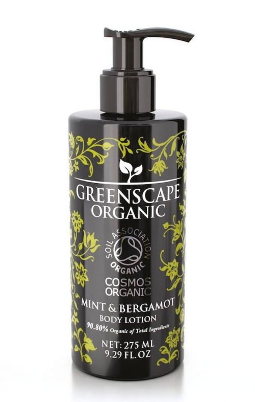 greenscape organic mint bergamot body lotion