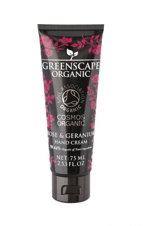 greenscape organic rose geranium hand cream