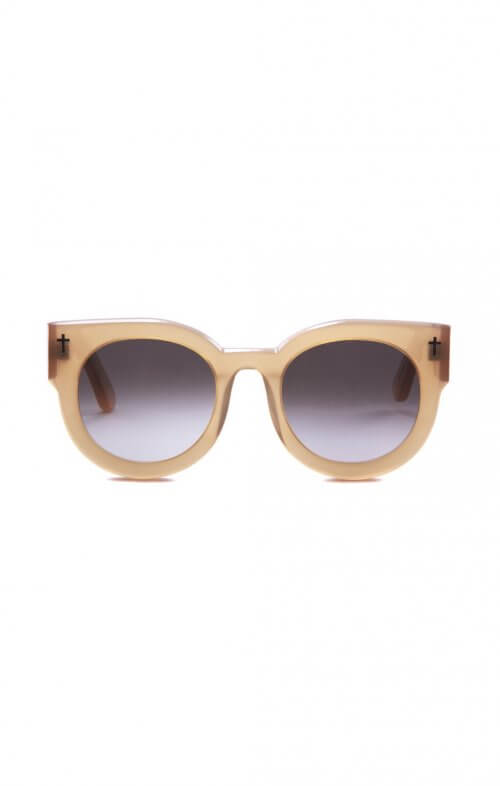 valley a dead coffin club sunglasses peach brown