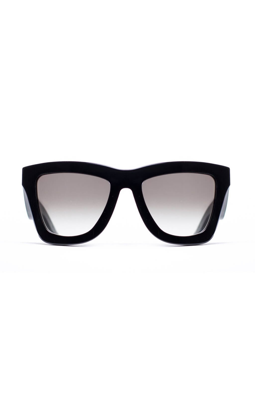 valley db sunglasses black gloss gradient lens