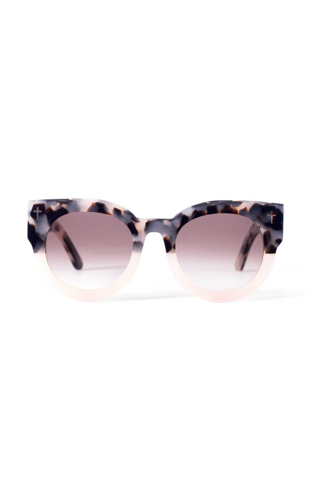 valley a dead coffin club sunglasses baby pink tortoise