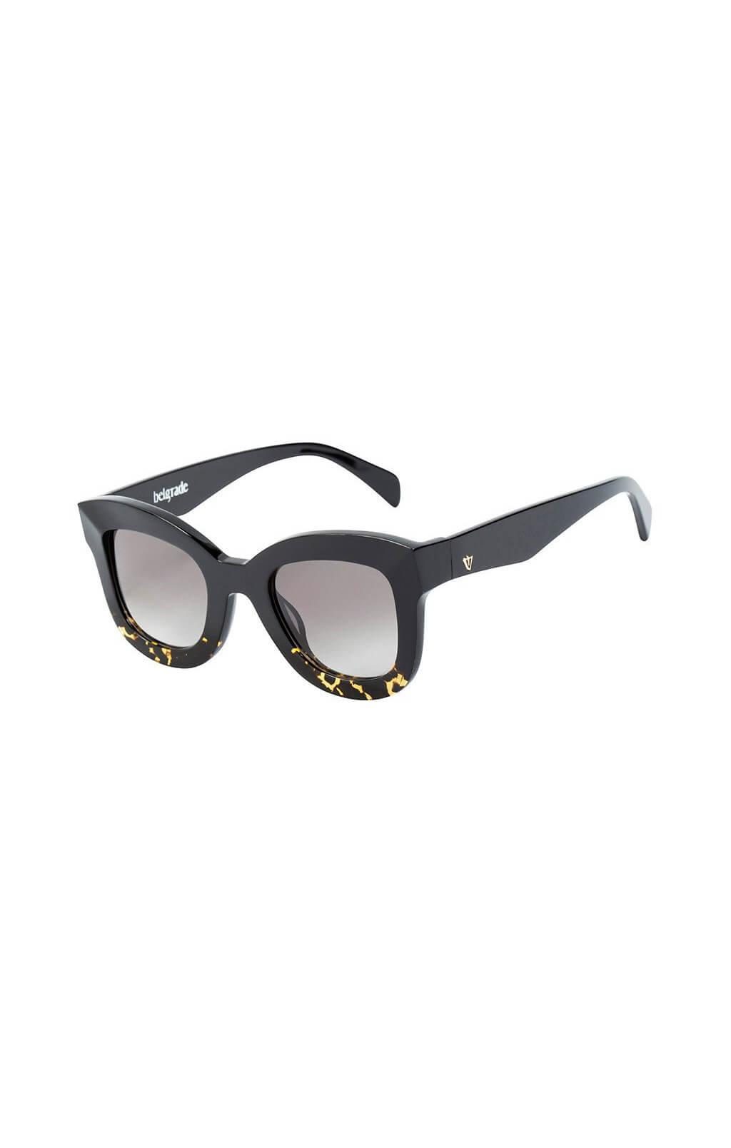 valley belgrade sunglasses black to tortoise