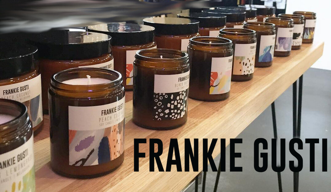 frankie gusti candles