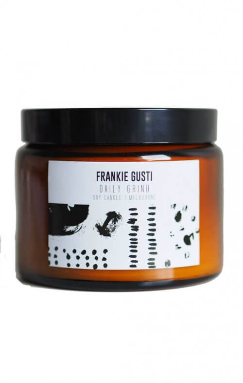 frankie gusti honeys big daily grind candle