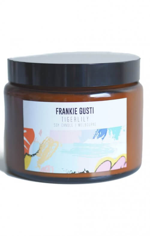 frankie gusti honeys big candle tiger lily
