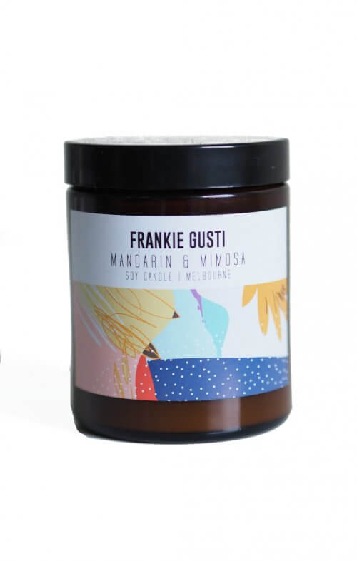 frankie gusti honeys little candle mandarin mimosa