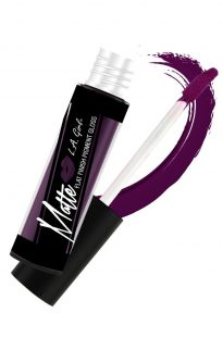 la girl matte pigment gloss black currant