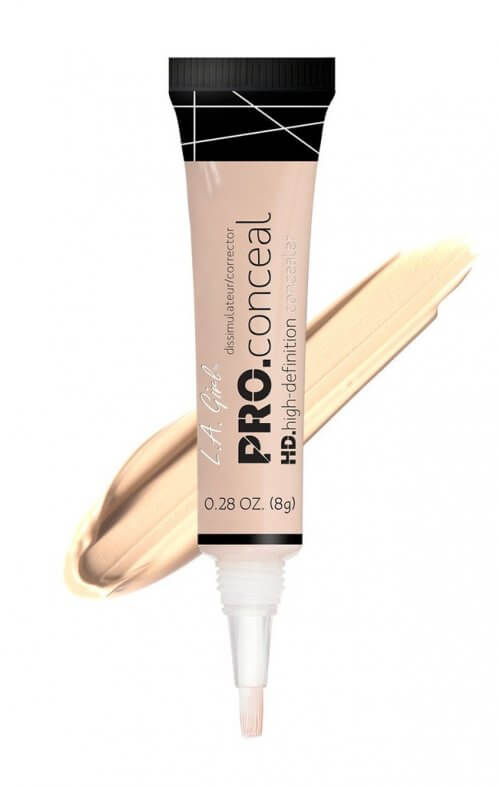 la girl hd pro concealer light ivory