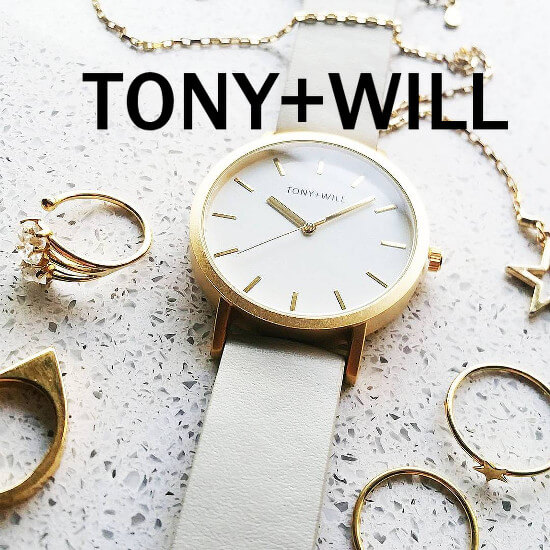 tony + will watches
