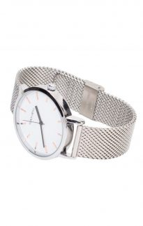 tony will silver mesh watch2