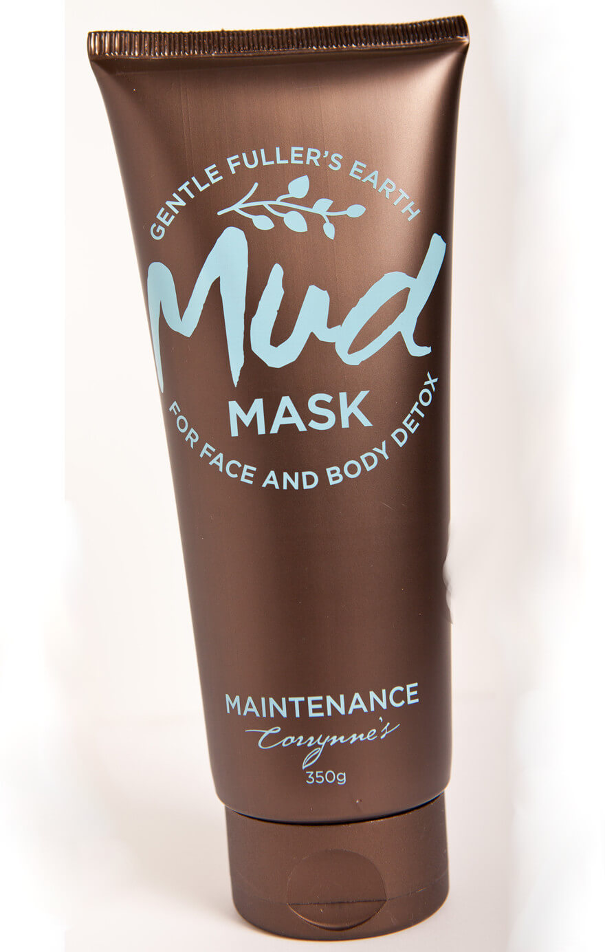 corrynnes mud mask maintenance face body