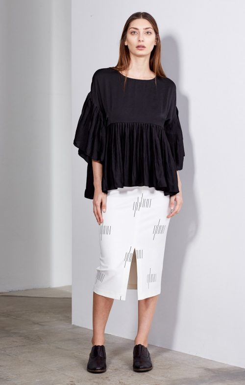 imonni elinor top black