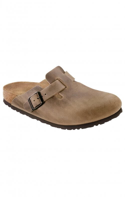 birkenstock boston tobacco brown oiled