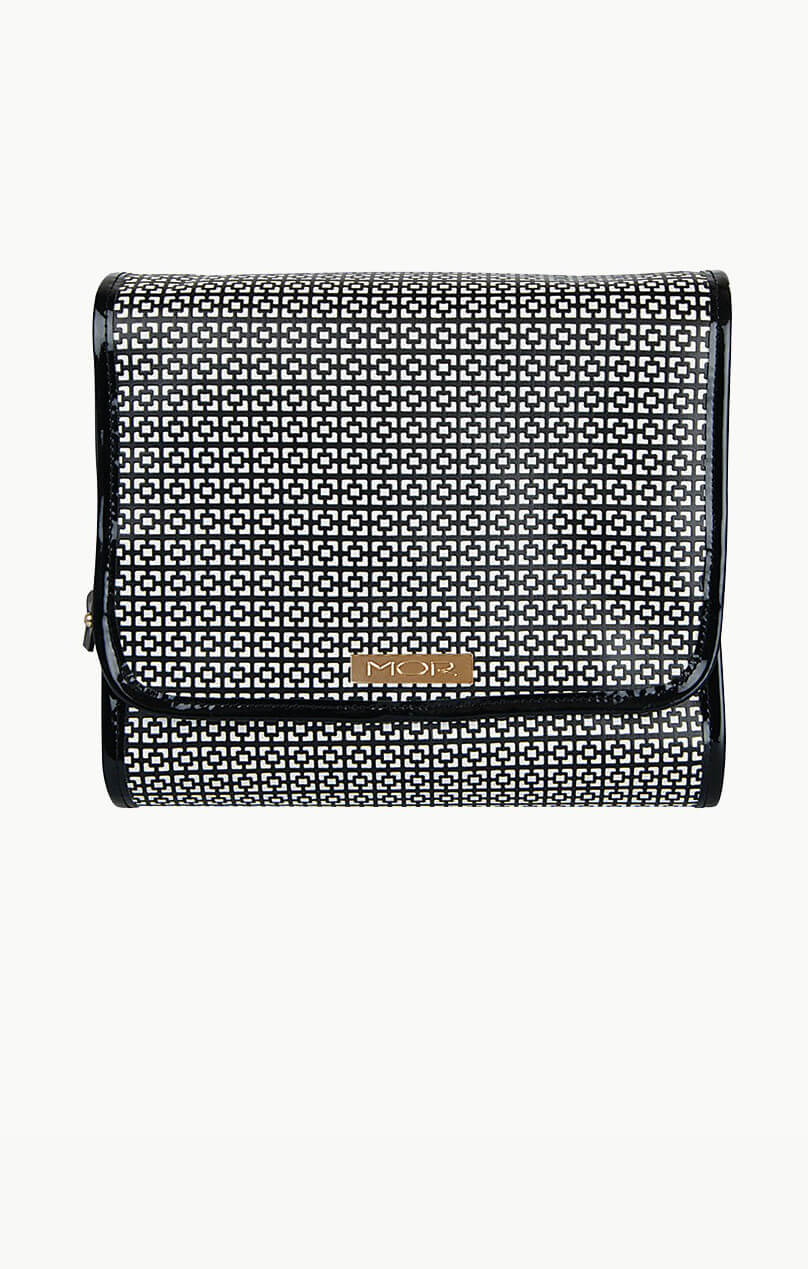 mor cosmetics london fold out toiletry bag