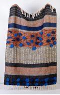 indigo love moroccan tribe throw