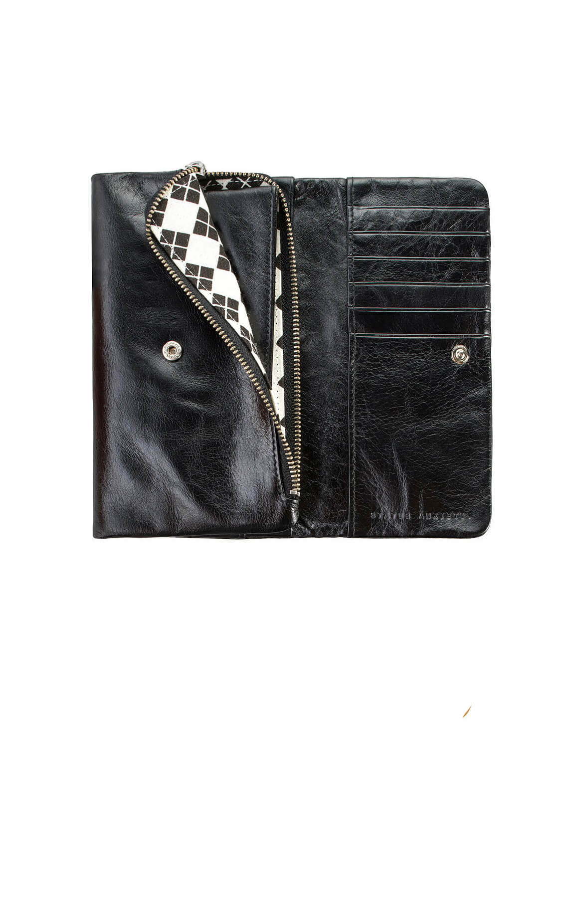 status anxiety audrey wallet black