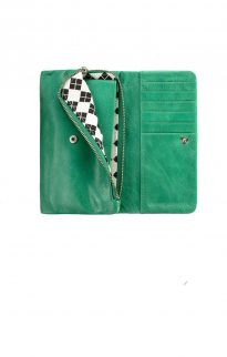 status anxiety audrey wallet emerald green2