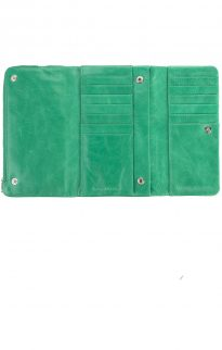 status anxiety audrey wallet emerald green3