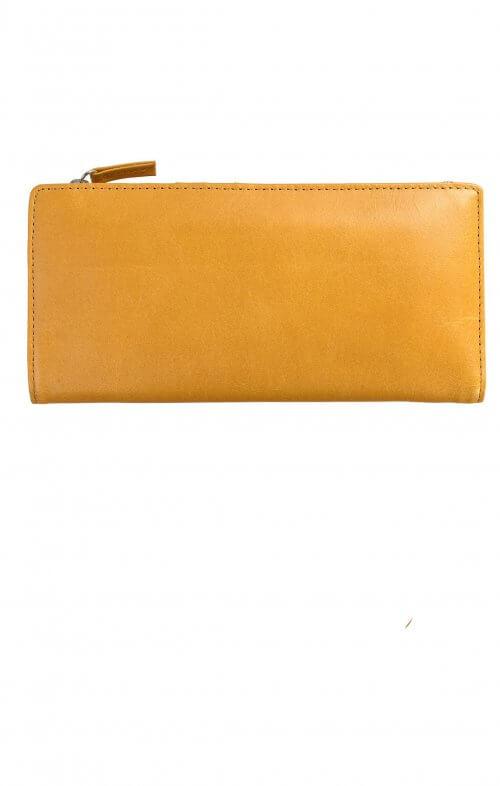 status anxiety dakota wallet tan
