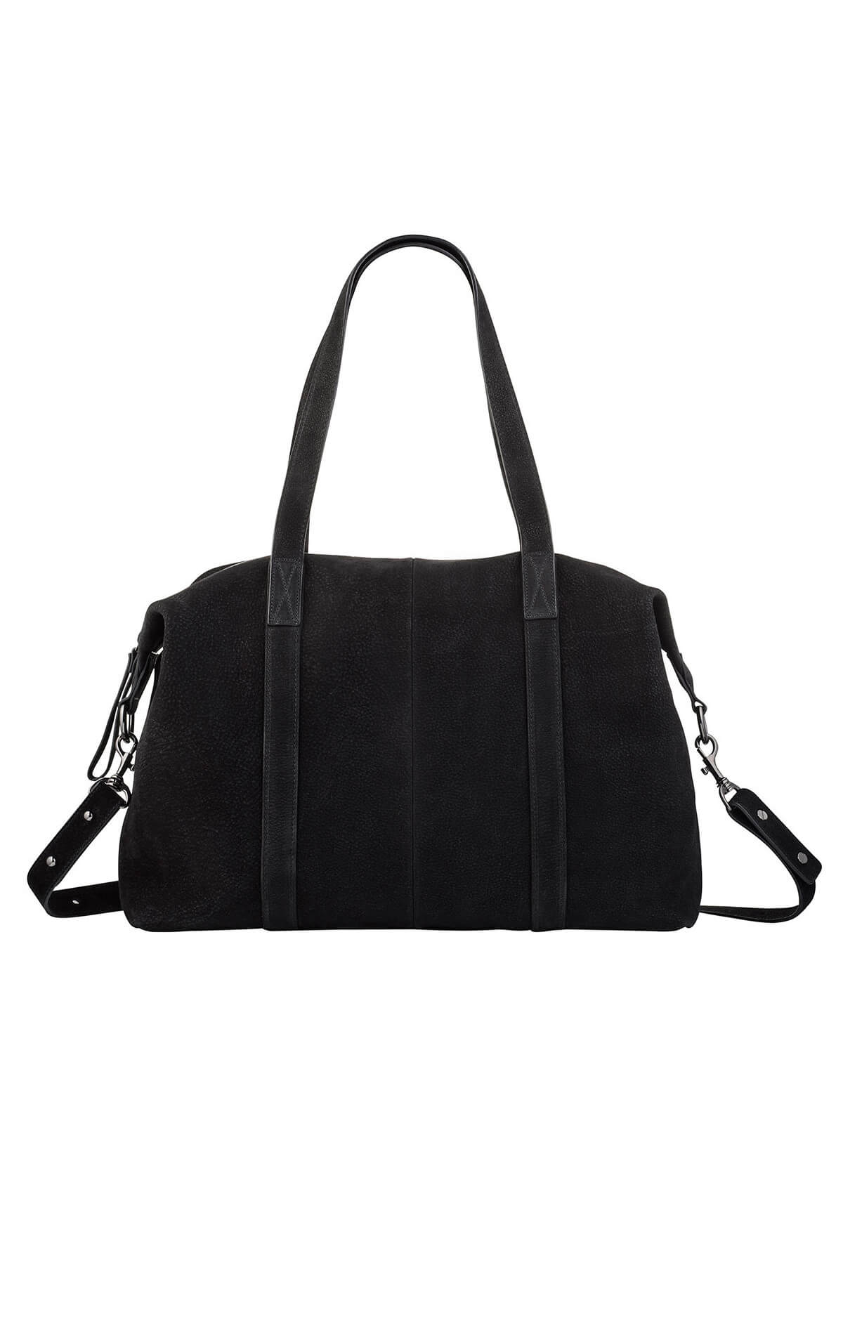 status anxiety fall of hearts leather bag black