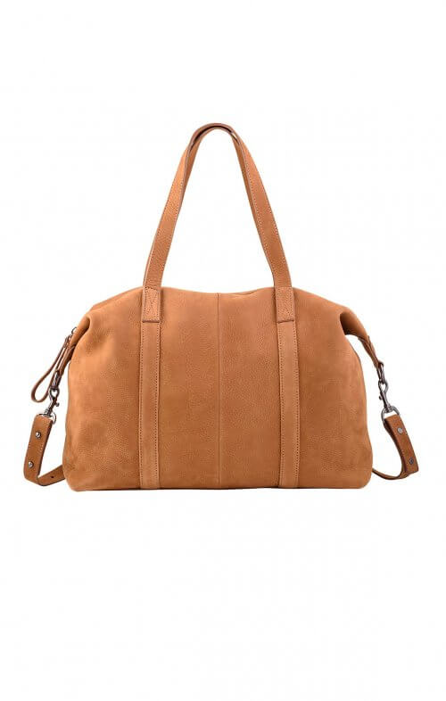 status anxiety fall of hearts leather handbag tan