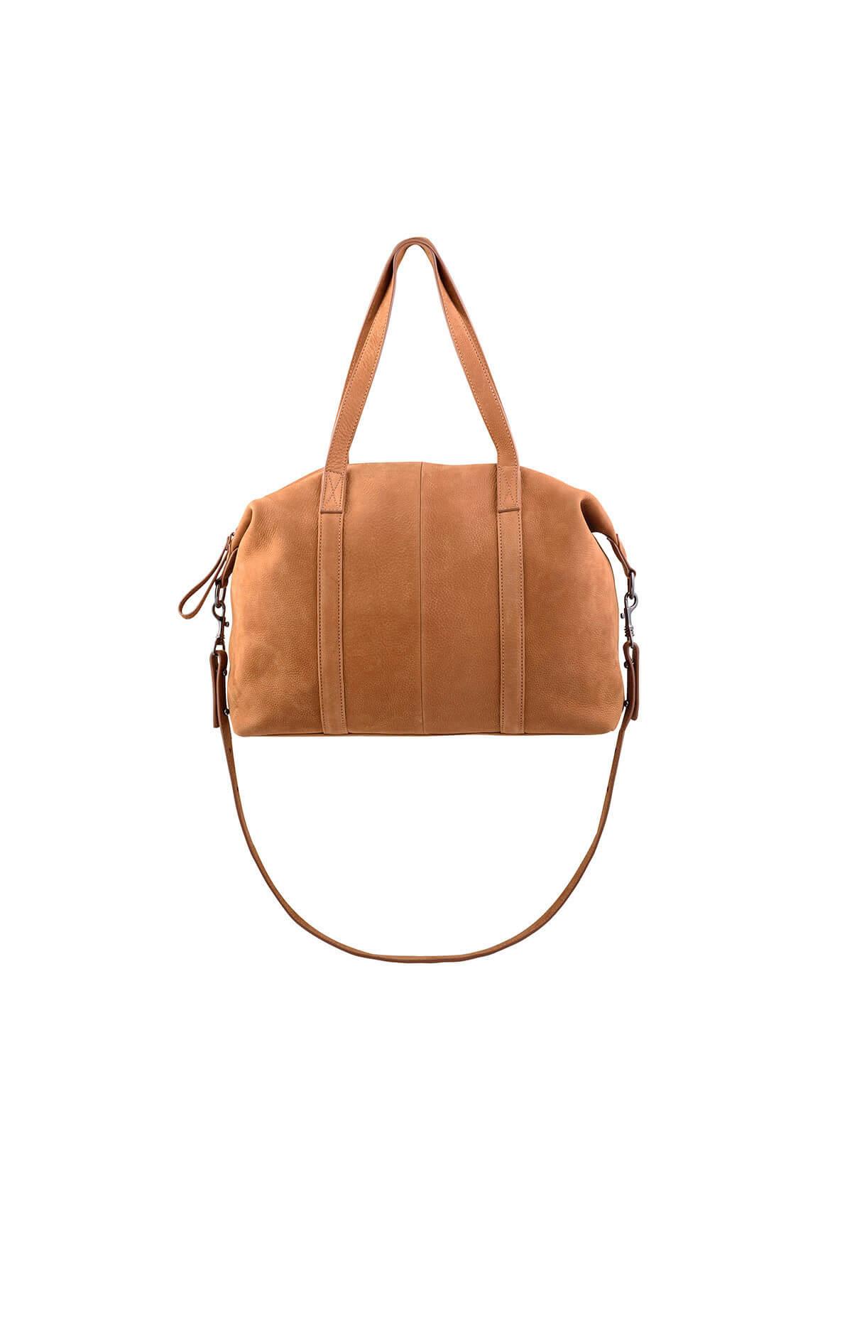 status anxiety fall of hearts leather handbag tan