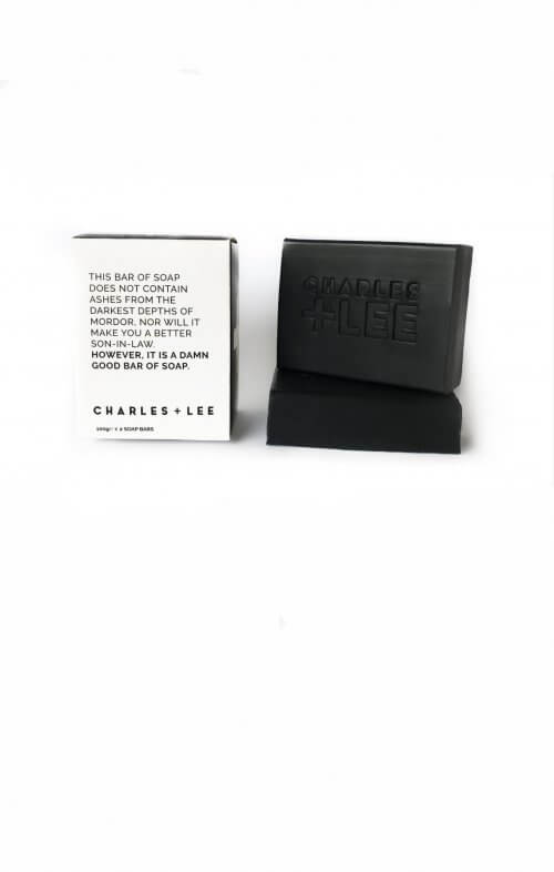 charles and lee charcoal soap bar duo