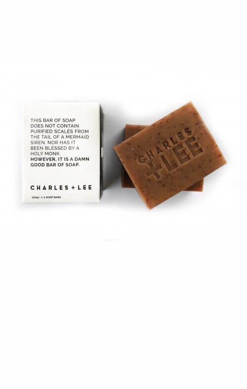 charles and lee coffee soap bar duo