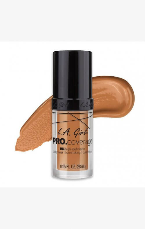 la girl hd pro foundation tan
