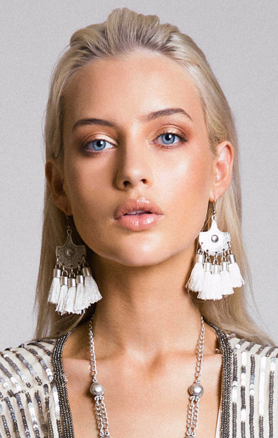 lazurah ayla earrings ivory
