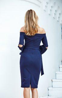 miss holly kenza dress navy2