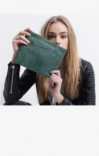 status anxiety antiheroine clutch teal croc5