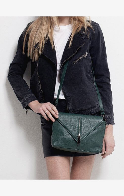 status anxiety exile bag green7