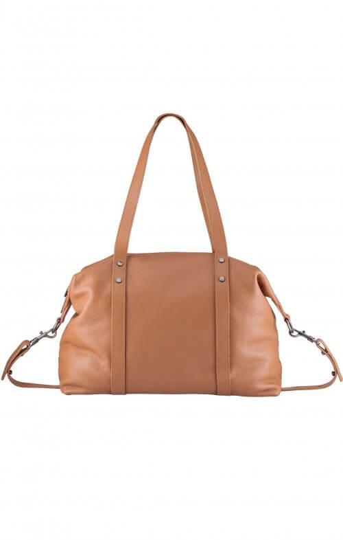 status anxiety love and lies bag tan